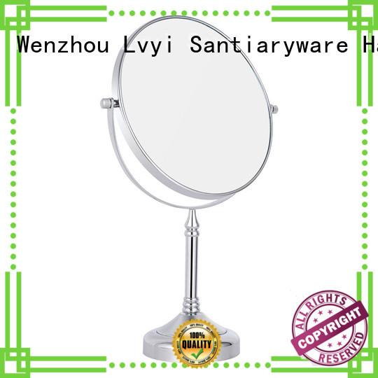 Wholesale cosmetic mirror circle company for bathroom