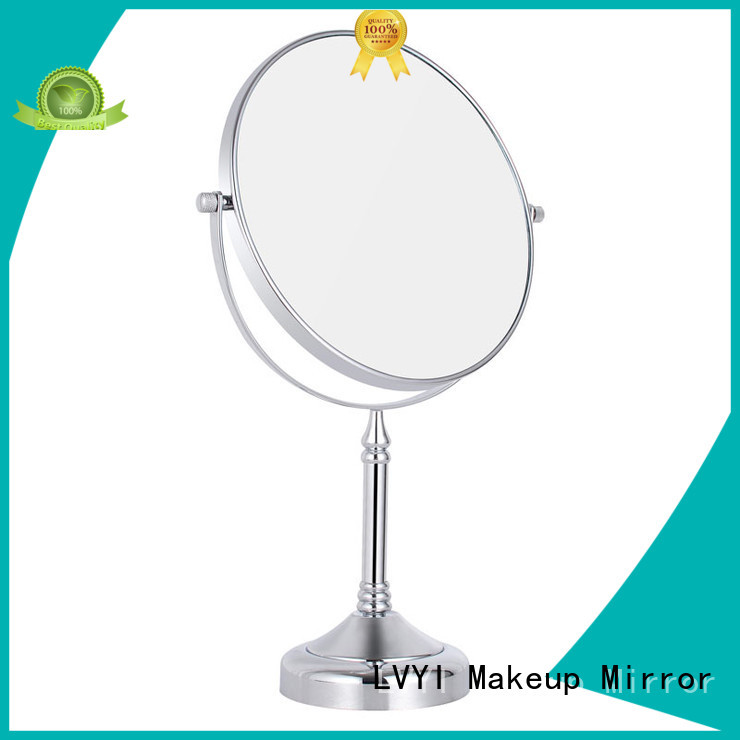 LVYI foldable makeup mirror custom made for bathroom