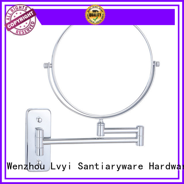LVYI mirror wall mounted makeup mirror factory for women
