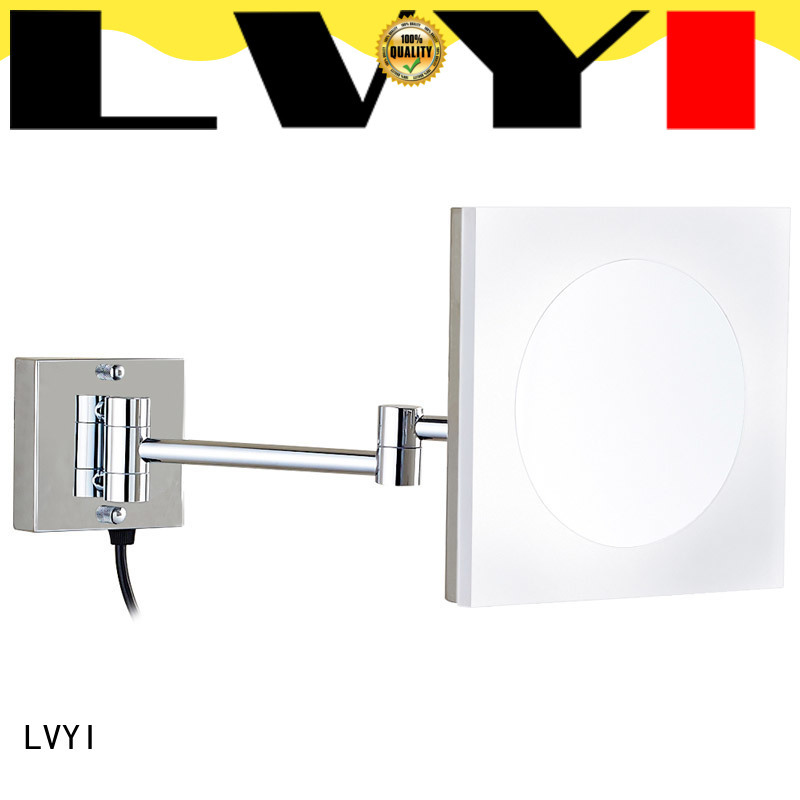 LVYI Custom wall mounted led makeup mirror supply for hotel