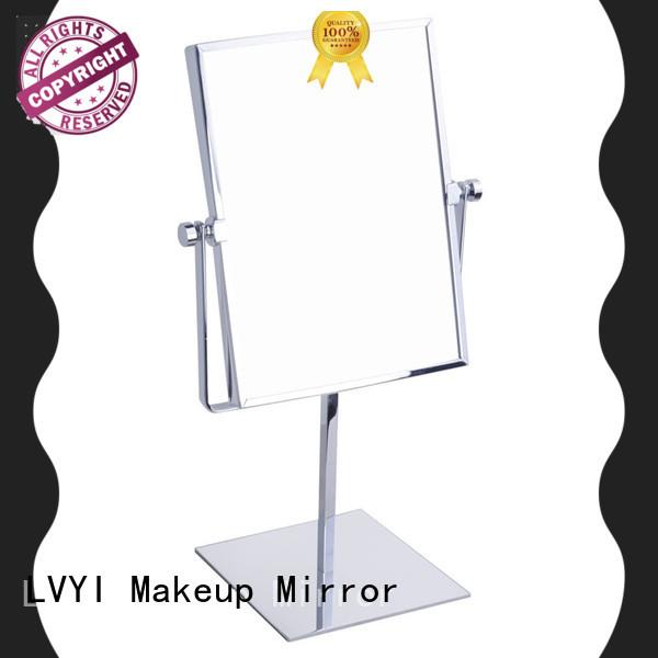 Custom makeup mirror circle manufacturers for travel