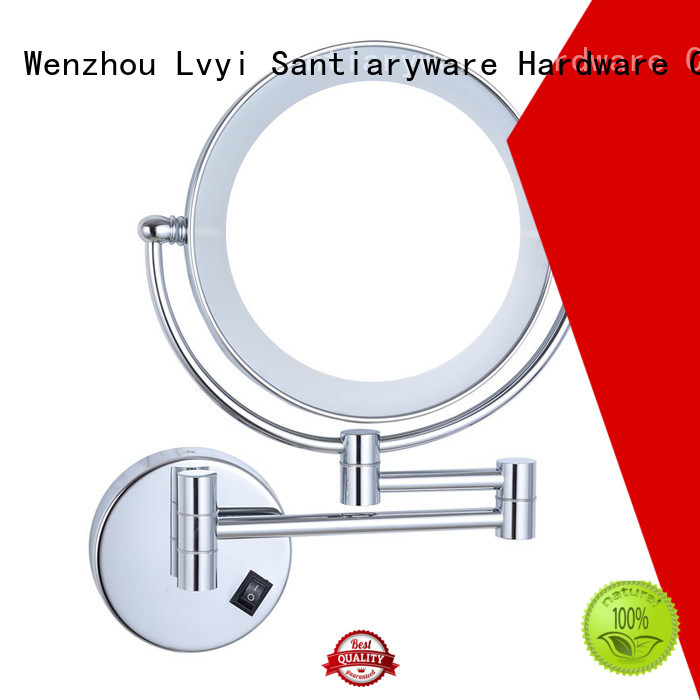 Wholesale magnifying mirror makeup supply for hotel