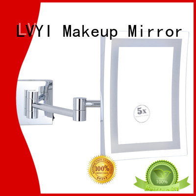 New magnifying mirror led factory for bathroom