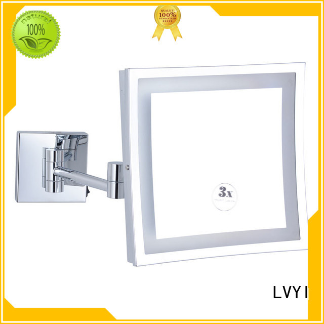Best wall mounted led makeup mirror 1806d supply for hotel